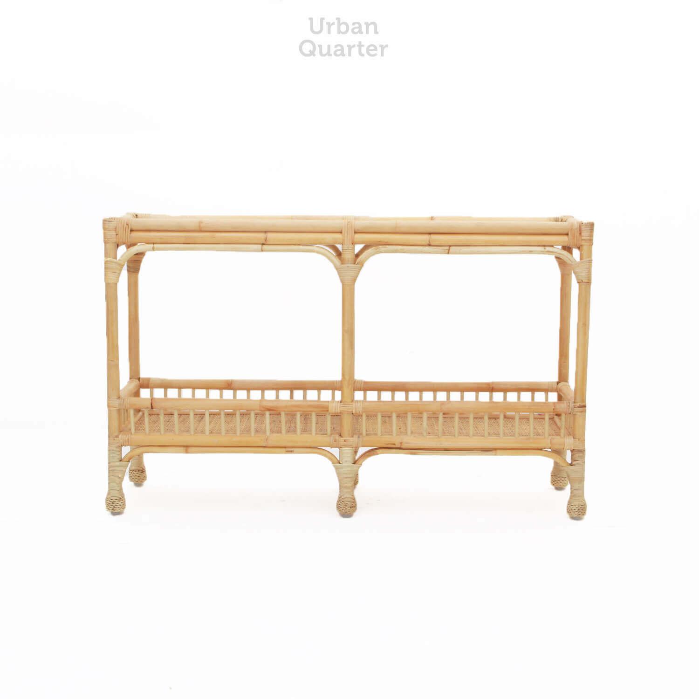 Lombard Rattan Console Table