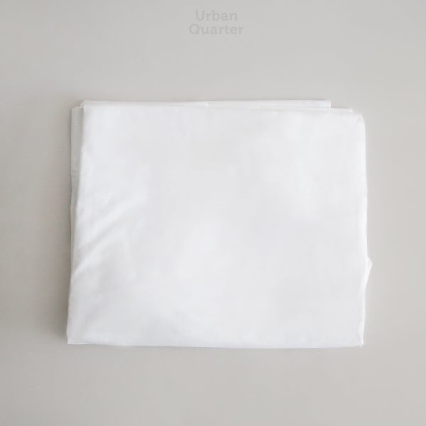 Sleeping Culture Off White Linen Duvet Cover in Queen Size